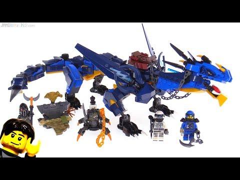 LEGO Ninjago Stormbringer dragon review! 70652