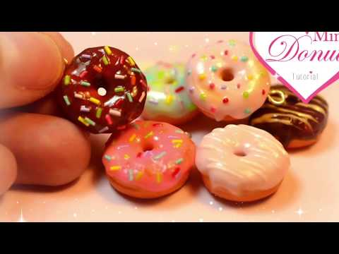 Mini Donuts Polymer Clay Tutorial