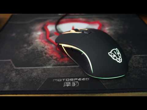 Unboxing Mouse Motospeed V30
