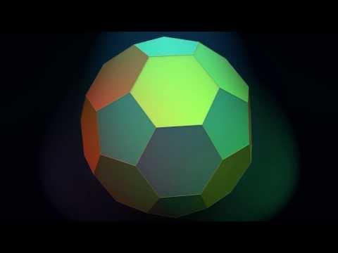 Make 3D Solid Shapes - Truncated Icosahedron / Усеченный икосаэдр