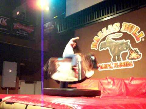 NY Girl on a bull at The Bull