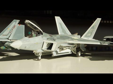 Hasegawa F 22 Raptor 1:48 build