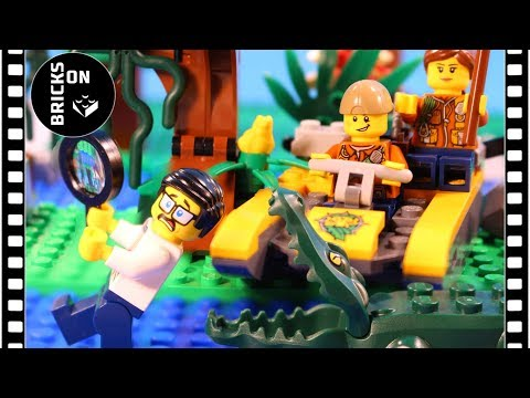 Lego City 60157 Jungle Starter Set Funny Stop-motion Animation Speed build instruction