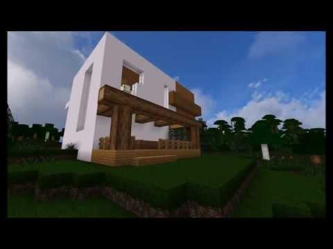 Minecraft Timelapse - Modern Summer House