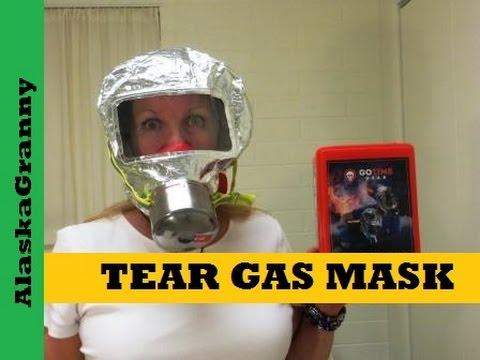 Tear Gas Mask Emergency Kit