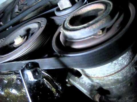 Serpentine drive Belt (multi v belt) how to remove 2000 Mazda Mpv