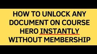 course hero unlocks Videos - 9tube tv