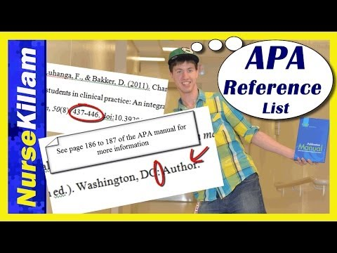 APA Reference List Basics: An Easy Guide (Video 4 of 4)