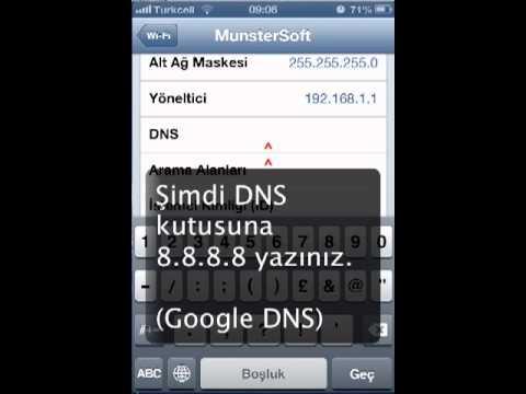 iPhone ve iPad DNS ayarları nasıl yapılır?