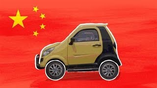 Big in China: Tiny Electric Cars