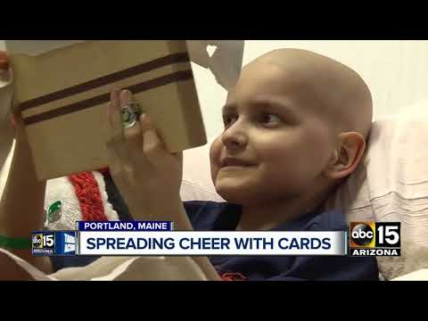 Boy with terminal cancer asking for Christmas cards
