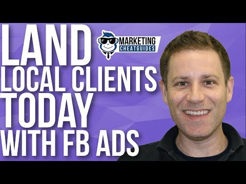 Land Local Clients Today Pitching Facebook Ads