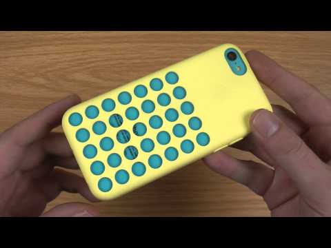 Official Apple iPhone 5C Case Review - Yellow