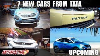 7 upcoming Tata cars | Upcoming | MotorOctane