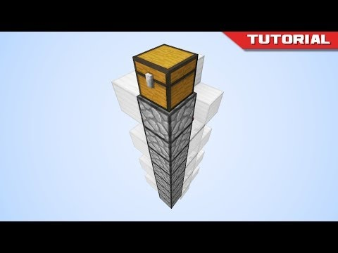 Quick And Easy: Minecraft Item Elevators