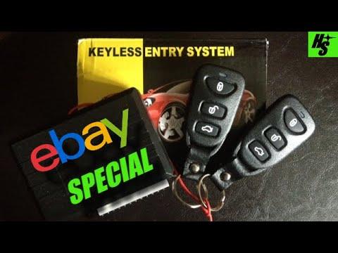 240SX Installing EBAY Keyless Entry How To