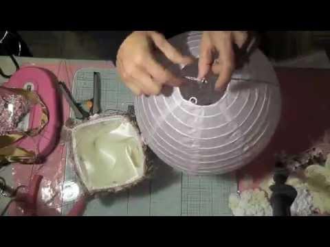 How to create a Hot Air ballon craft tutorial