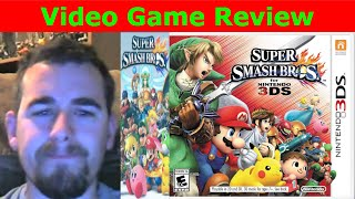 Video Game Review- Super Smash Bros 3DS