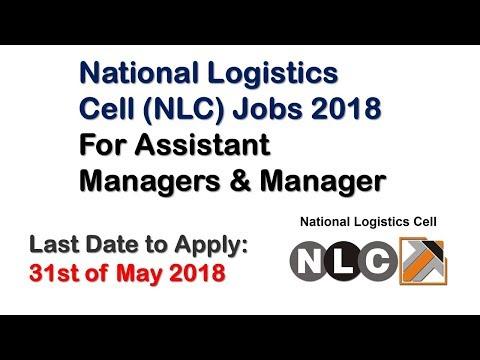National Logistics Cell Jobs 2018