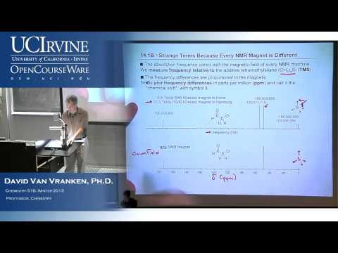 Organic Chemistry 51B. Lecture 17. NMR Spectroscopy.
