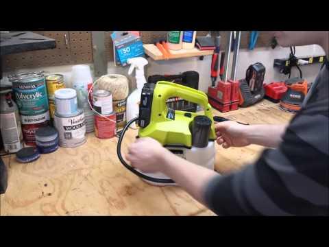 Ryobi 18V One+ Chemical Sprayer Review