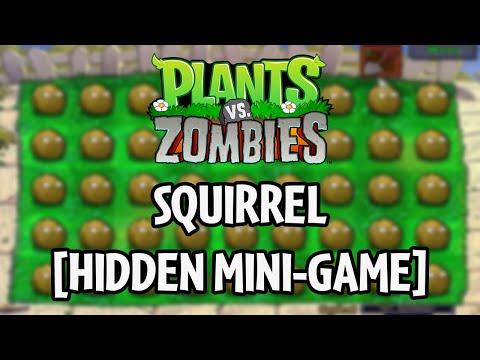 Plants vs. Zombies - Squirrel [HIDDEN MINI-GAME]