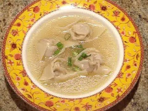 How to Make Wonton Soup