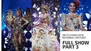 BB. Pilipinas 2019 National Costume FULL SHOW PART 3