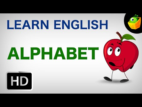 Alphabet - Pre School - Learn English Words Video For Kids and Toddlers