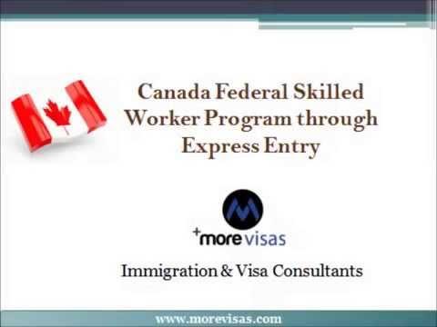 How to Apply Canada FSW Program through Express Entry   MoreVisas