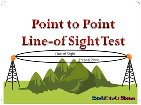 Wireless Point to Point Site survey and Feasibility test with google earth