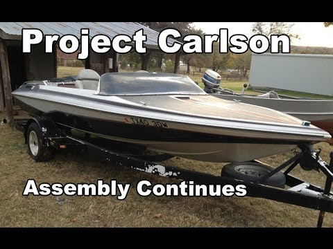 Project Carlson CVX-18- Final Assembly Continues