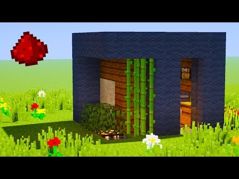 Minecraft - 5X5 Modern Redstone House Tutorial (Redstone Tutorial)