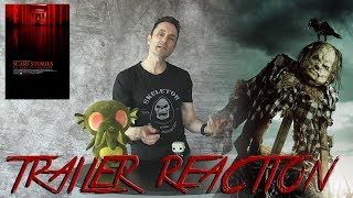 Scary Stories to Tell in the Dark Official Trailer Reaction