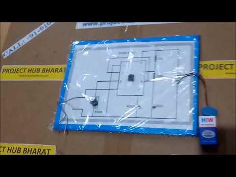 Burglar Alarm using IC555 (Cardboard)