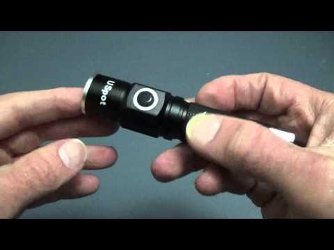 USpot 5w CREE LED Flashlight Review