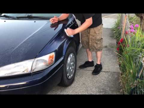 Part 2 how to paint car with rattle cans
