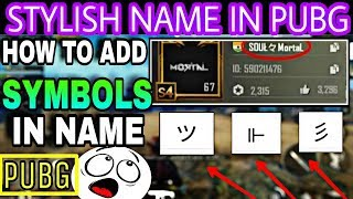 2:16) How To Add Symbols In Pubg Mobile Video - PlayKindle org