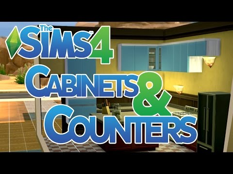 The Sims 4 Cabinets and Counters How To