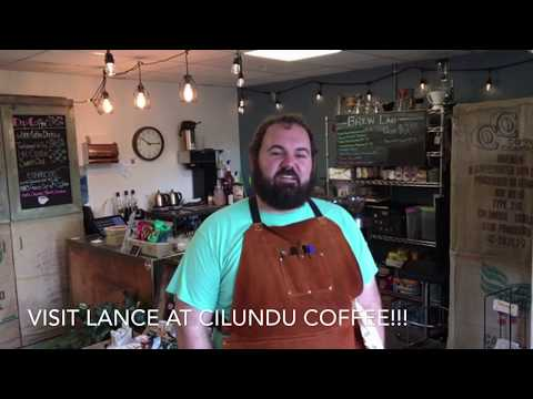 Drinking a Maple Syrup Cappuccino with Lance, Owner of Cilundu Coffee in Carbondale, Colorado.