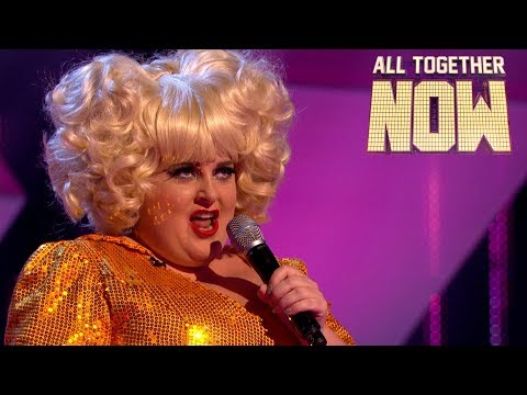 Drag queen Thomas Pound is Simply The Best! | Auditions Week