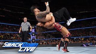 The Usos vs. Chad Gable & Shelton Benjamin: SmackDown LIVE, Dec. 19, 2017