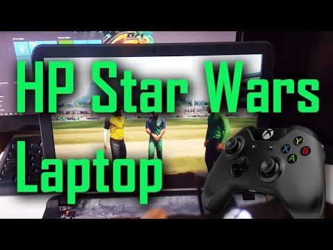 HP Star Wars Laptop Don Bradman Cricket