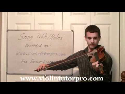 Violin Half Notes - Lesson 7
