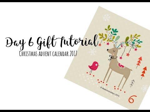 DIY Christmas Bunting (#giftmas Scrappy Advent Calendar: Day 6)