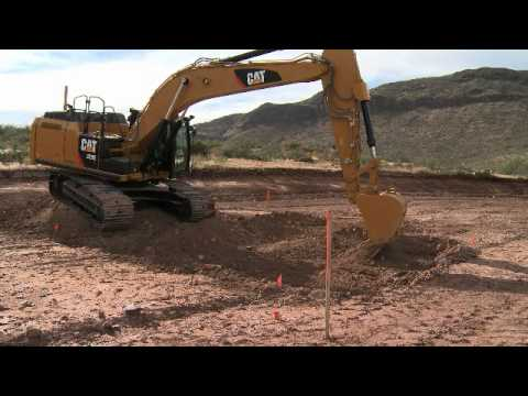 Cat® Grade Control for Hydraulic Excavators - Basic Operation Using Reference Elevations