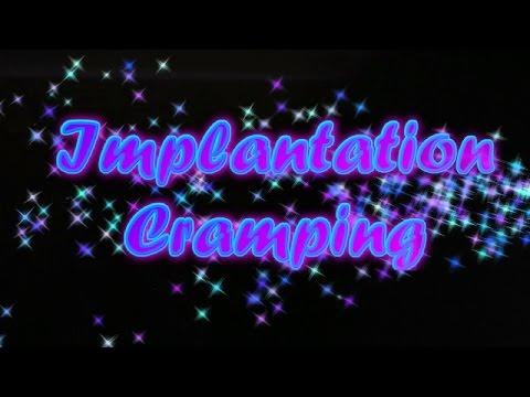 Implantation Cramping