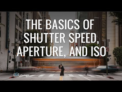 The Basics of Shutter Speed, Aperture, and ISO | Minute Photography