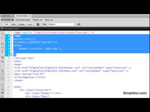 How to Build a MYSQLi User Registration System - Part 2: User LogIn, Restrict Page Access and LogOut