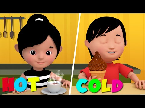The Opposites Song | 3D Nursery Rhymes For Kids |  Learn Opposites for Babies by  Kids Tv